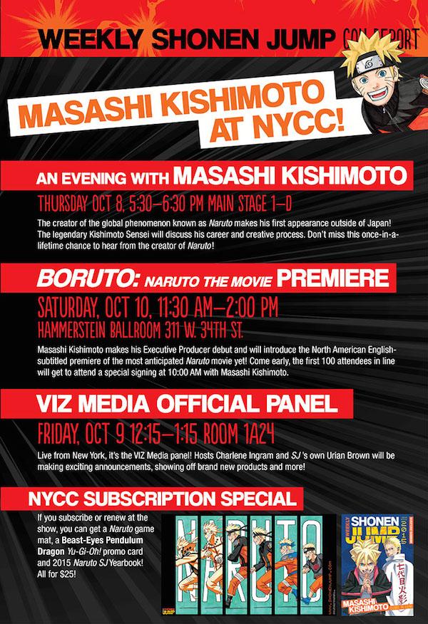 Masashi Kishimoto NYCC